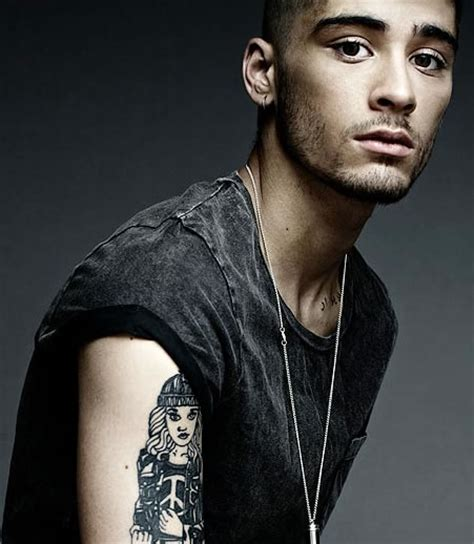 zayn tattoo of perrie portrait tattoos a growing trend in the