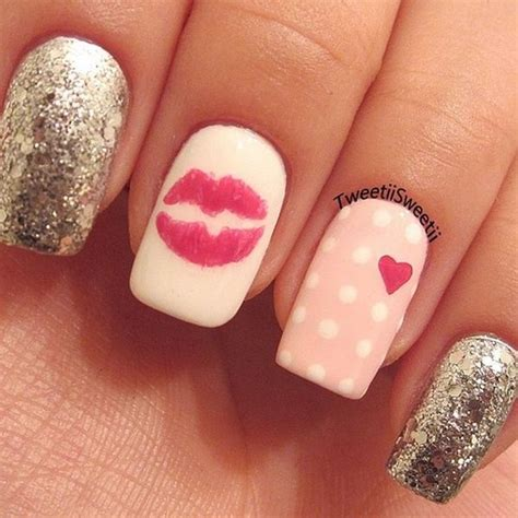 pictures of nail designs for valentines day 21 s day nail ideas