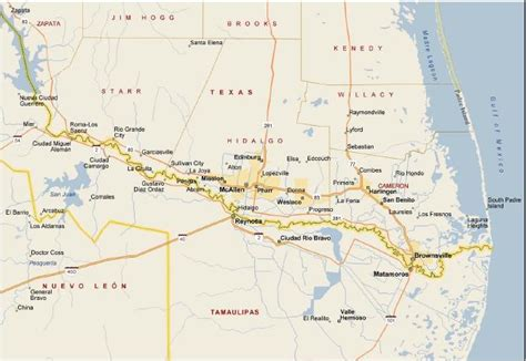 map of grande valley texas our services