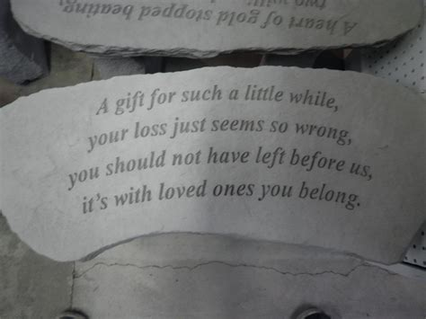 memorial bench sayings remembrance quotes for loved ones quotesgram