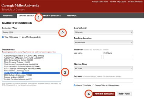 Tepper Mba Course Request System by Courses The Robotics Institute Carnegie Mellon
