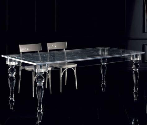 acrylglas tisch innovatives acryl esstisch design colico design aus
