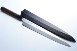 japanese kitchen knives review review yoshihiro vgya240sh stainless hongasumi yanagi sushi sashimi japanese chef knife 9 5