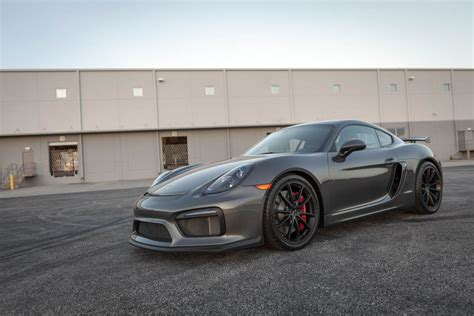 porsche cayman 2015 grey 2016 porsche cayman gt4 in agate grey metallic black