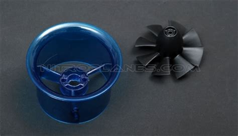 ultra micro ducted fan micro 50mm edf including the unique 8 blade fan rotor and