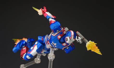 Bandai Shf Iron 3 Iron Patriot supreme mecha review s h f iron patriot
