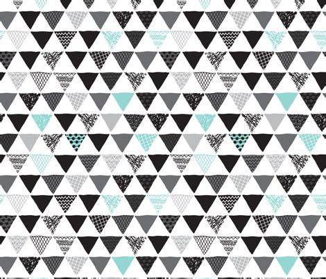 tribal geometric pattern geometric tribal aztec triangle blue modern patterns