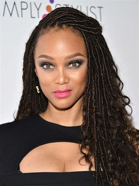 faux sister locs tyra banks gets in on faux locs trend the style news