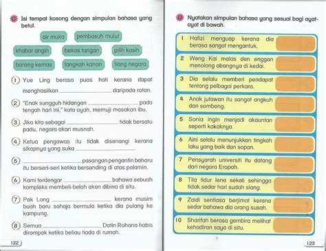 Book 2 Bahasa simpulan bahasa comics