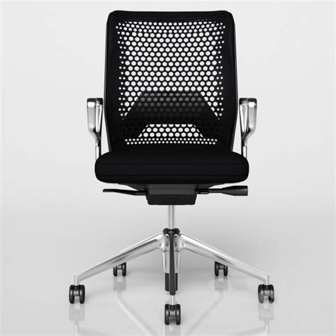 3d models office furniture vitra id mesh swivel chair