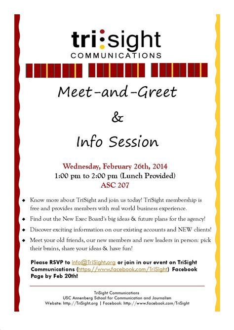 Meet And Greet Quotes Quotesgram Meet And Greet Flyer Template