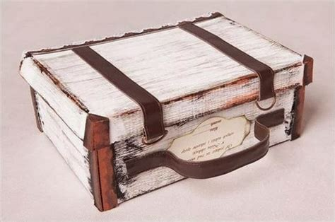 How To Make A Shoe Box Out Of Paper - diy suitcase out of shoe box the idea king