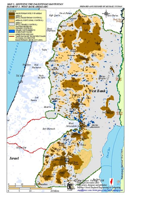 west bank map west bank settlements map images