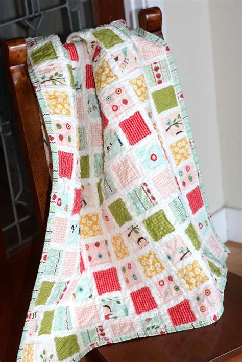 Baby Quilt Backing by Kit Vintage Baby Quilt Pink Fabric Backing By