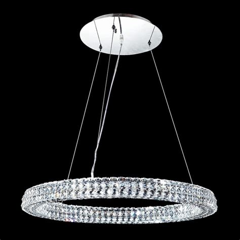 Halo Chandelier Contemporary R Moder Halo Led Chandelier Contemporary Chandeliers By Ls Plus
