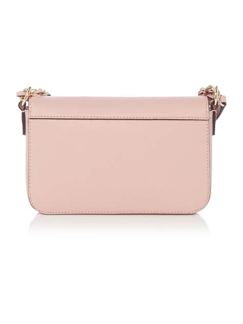 light pink crossbody purse dkny saffiano light pink small flap over crossbody bag in