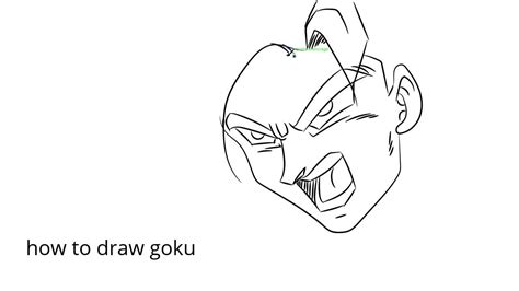 how to make easy doodle how to draw goku easy