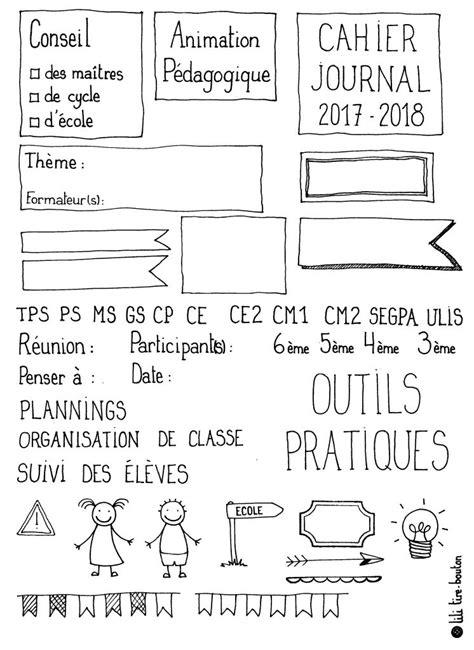 DIY : Un carnet de bord à votre image à fabriquer