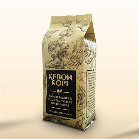jual kopi arabika arabica papua wamena 200 gram biji bubuk kebon kopi