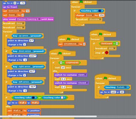 pacman code ian computes pac scratch screenshots