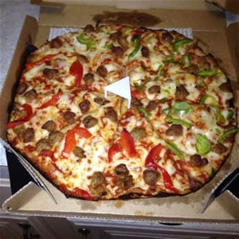 Handmade Pizza Dominos - domino s pizza 11 reviews pizza 116 w broad st