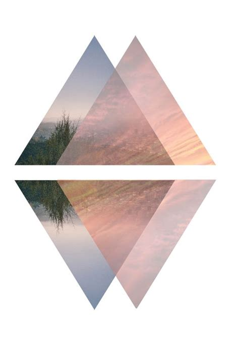 geometric layout pinterest translucent layers wanderer print 5 by risinggoods