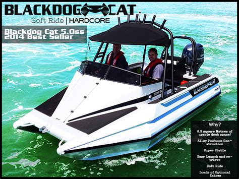 aluminum fishing boats new zealand blackdog cat nz aluminium catamaran boats marine