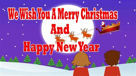 merry christmas  happy  year song learntoride   song     merry