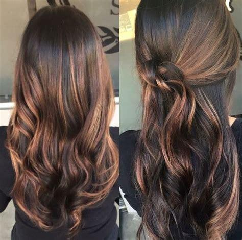 Caramel Balayage Hair Color Newhairstylesformen2014 Com | balayage highlights on dark brown hair balayage