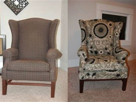 how to reupholster a wingback chair chairs wingback