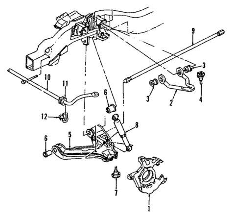 2003 chevy tahoe parts diagram parts 174 chevrolet tahoe stabilizer bar oem parts