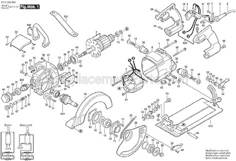Skil 5860 Parts List And Diagram F012586099