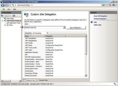 configuration section les concepteurs artistiques this configuration section