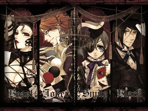 imagenes de joker de kuroshitsuji black butler wallpapers wallpaper cave