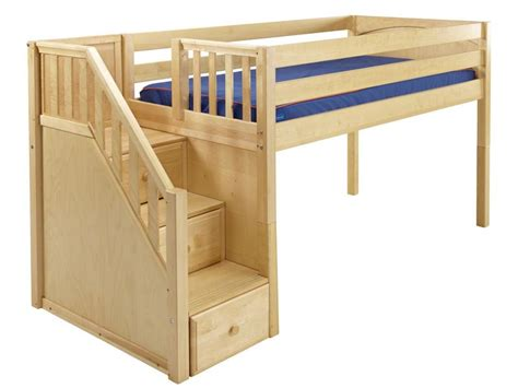 Stairs For Loft Bed by Low Loft Beds On Loft Beds Loft Beds