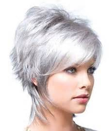 trendy gray hair styles short trendy hairstyles the best short hairstyles for
