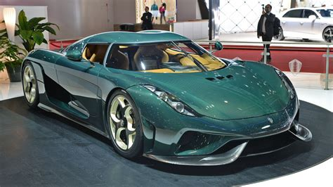 green koenigsegg regera the first production koenigsegg regera looks wonderful in