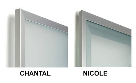 cornici in alluminio anta su misura con cornice in alluminio