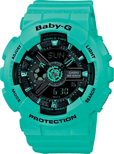 Baby G Casio Dg 120 Blue ba111 3a baby g blue womens watches casio baby g