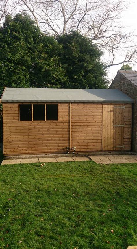 shed installation shed installation castle buildings ltd