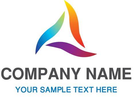 design logo with name company name vector logos