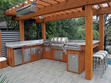 outdoor bbq ideas kitchen cabinets garden ideas