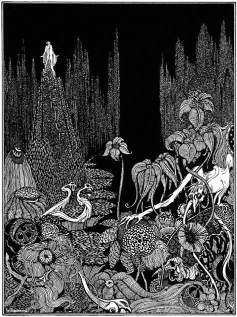and fairies a grayscale coloring book fairies mermaids dragons and more books s graphics harry clarke tales of mystery and