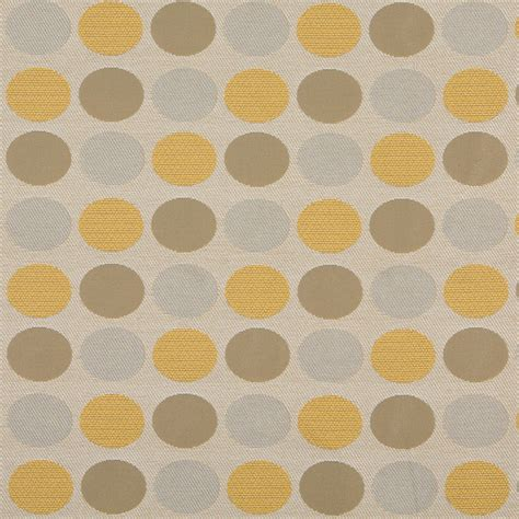 polka dot upholstery fabric beige gold and gray polka dots indoor outdoor upholstery