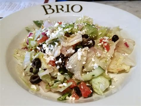 brio salads brio s chopped salad to start yelp