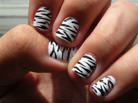 Zebra Nail Step By Step