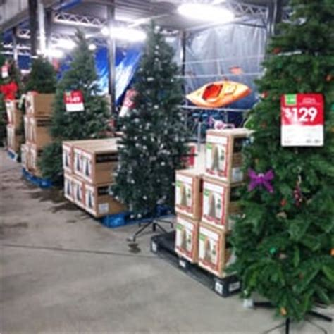 real christmas tree cost walmart walmart 12 photos 48 reviews department stores 1400 lead hill blvd roseville ca