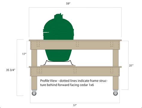 big green egg table plans large pdf big green egg table plans all parent