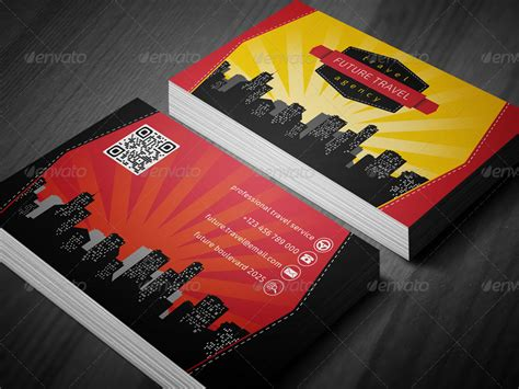graphicriver travel agency business card design template travel agency business card by eldis design graphicriver