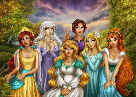 disney wallpaper deviantart non disney s beauties by daekazu on deviantart